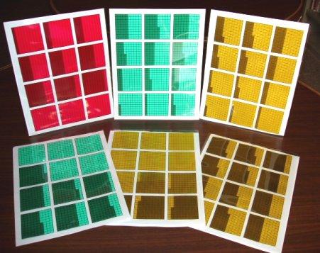 Decimal Squares®Overhead Transparencies