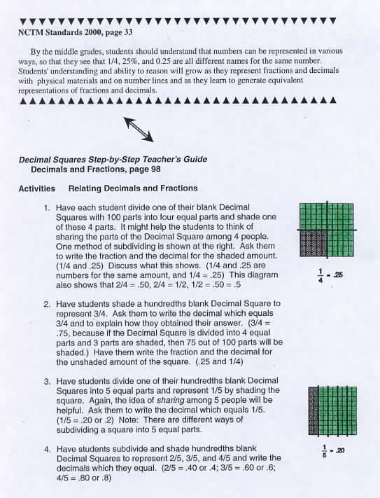 ntcm standards essay Writing supports nctm process standards as you read through this partial listing of nctm process standards, reflect on how writing about math can engage students in each problem solving  lively essays on a math topic ads for math, or math class, or a number math mad libs.